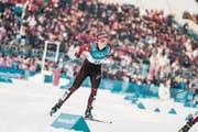 Von der Krienser Sportschule zu den Olympischen Spielen in Südkorea: Nadine Fähndrich aus Eigenthal. (Bild: Federico Modica/Freshfocus (Pyeongchang, 10. Februar 2018))