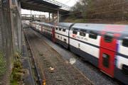 Der Doppelspur-Ausbau zwischen dem Weiler Freudenberg und Rotkreuz ist inzwischen fertiggestellt.. (Bild: Archiv Neue ZZ)