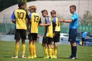 Vom Cupfinal ausgeschlossen: Die Baarer C-Junioren, hier im Cupfinal im Jahr 2014. (Bild: Regiofussball.ch)