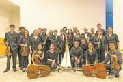 Die jungen Musikerinnen und Musiker des Ensembles Sonidos de Paraquaria fokussieren sich auf die Barockmusik aus der Zeit der Jesuitenreduktionen in Südamerika. (Bild: PD/Christian Ender)