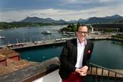 «Die Auslastung dürfte nahezu bei 100 Prozent liegen», sagt Patric Graber, Luzern Hotels. (Bild: Corinne Glanzmann (Neue LZ))