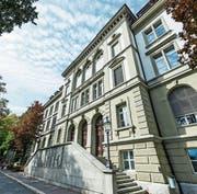 Die Kantonsschule Musegg an der Museggstrasse. (Bild: Roger Grütter (Luzern, 29. September 2017))