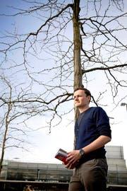 Kris Decker (27) hat sich in seiner Masterarbeit intensiv mit der Klimaforschung befasst. (Bild Manuela Jans)