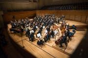 Auch das Luzerner Sinfonieorcheseter wäre von den Kürzungen öffentlicher Beitrage betroffen. (Bild: Roger Grütter)