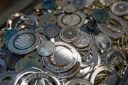 Gravura stellt Münzen und Medaillen her. (Bild: Roger Grütter (Rothenburg, 20. Oktober 2017))