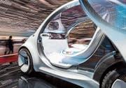 Autonom fahrende Studie: Smart vision EQ fortwo. (Bild: KEY)
