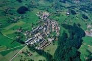 Blick auf einen Teil von Feusisberg. (Bild: PD)