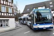Ab Montag fahren wieder Busse über die Schochen-mühlestrasse. (Archivbild Werner Schelbert)
