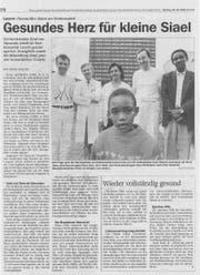 So hat unsere Zeitung im Sommer 1999 über den Fall berichtet.