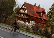 Das Haus Schochenmühlestrasse 2 ist als Asylunterkunft ungeeignet. (Bild Stefan Kaiser/Neue ZZ)
