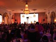 Der prächtige Saal mit Belle-Epoque-Charakter war gut gefüllt. (Bild: jem)