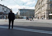 Ausnahmen gibt es für den Bankenplatz. (Bild: Gaëtan Bally/Keystone (Zürich, 4. Oktober 2016))