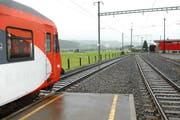 Blick vom Bahnhof Rothenthurm in Richtung Altmatt. (Bild: Bert Schnüriger / Neue SZ)