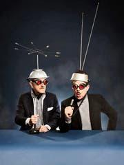 Dieter Meier (links) und Boris Blank kann man bald auch live erleben. (Bild: Universal)