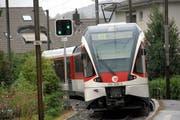 Quietschende Züge sind in Hergiswil ein grosses Thema. (Archivbild Neue NZ)