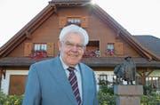 Der am Sonntag verstorbene Pfarrer Leo Senn war in Menzberg sehr geschätzt. (Bild: PD)