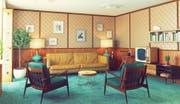 Erinnerungen werden wach. Wohnzimmer der 70er-Jahre. (Bild: Fotolia)