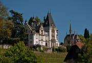 Das Schloss Meggenhorn. (Bild: Pius Amrein (Meggen, 18. Mai 2013))