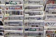 Vier Zeitungen wechseln vom Südostschweiz-Verbund zur NZZ-Gruppe (Symbolbild). (Bild: Keystone)