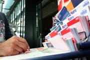 Im Schwyzer Lotteriefonds sind noch einige Millionen zusammengekommen. (Bild: Archiv Neue LZ)