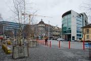 Am Pilatusplatz will die Stadt vorwärts machen. (Bild: Dominik Wunderli / Neue LZ)
