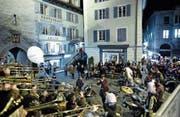 Wird am Chesselwy in der Zuger Altstadt vielleicht bald eine neue Gruppe mitmischen? (Bild: Maria Schmid (Zug, 23. Februar 2017))