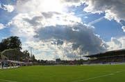 Auf und neben dem Platz ist es im Gersag Stadion beim Spiel zwischen Emmenbrücke und Südstern zu unschönen Szenen gekommen. (Symbolbild) (Bild: Philipp Schmidli / Neue LZ)