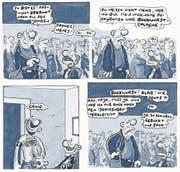 Aus Pauls wilden Party-Kumpanen sind wehleidige, kränkelnde Männer geworden. (Bild: PD)