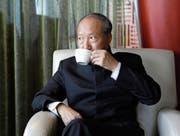 Scheint bei der chinesischen Regierung Rückhalt zu verlieren: HNA-Gründer Chen Feng. (Bild: Jason Lee/Reuters (Dalian, 9. September 2015))