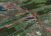 Der Verein «Bahndreieck Luzern Nord» setzt sich für einen Bahnhof beim Friedental ein. (Bild: zvg)
