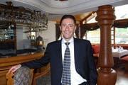 Giuseppe Lavuri, CEO der Lucerne Hotel Group, die das Hotel in Beckenried betreibt. (Bild: Rosemarie Bugmann/Neue NZ)