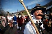 Die traditionellen Tiroler zu Besuch aus Oberägeri. (Bild Christof Borner-Keller/Neue ZZ)
