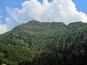 Anhand der Rigi dokumentierten Berner Geologen die Landschaftsentwicklung in den Alpen vor rund 25 Millionen Jahren. (Bild: Universität Bern)