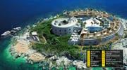 Diese Insel gehört nun Samih Sawiris. (Bild: mamulaisland.com)