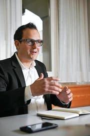 Markus Bolliger (40) ist seit dem 1. Februar Geschäftsführer der Obwalden Tourismus AG. (Bild Corinne Glanzmann)