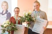 Simona Ziegler, Viva Luzern Eichhof (rechts), und Sarah Steffen, Luzerner Kantonsspital haben sich für die Berufs-Schweizermeisterschaften 2016 qualifiziert. (Bild PD)