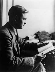 F. Scott Fitzgerald (hier 1925) wurde geliebt für seine beschwingten Geschichten über junge Leute. Er konnte aber auch anders. (Bild: Getty)