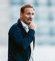 Mauro Lustrinelli will den FC Thun zum dritten Sieg in Serie coachen. (Bild: Marc Schumacher/Freshfocus (Thun, 8. April 2017))