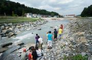 Der Arlisbach ist nicht der Einzige, der im Kanton Zug renaturiert wird: Die Renaturierung der Lorzenebene in Baar ist seit rund einem Jahr abgeschlossen. (Bild: Stefan Kaiser / Neue ZZ)