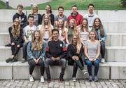 Adieu: Diese 17 Schülerinnen und Schüler der dritten Oberstufe aus Neuenkirch gehen ab heute getrennte Wege. (Bild: Nadia Schärli (3. Juli 2017))