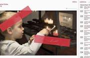 Die neue Homepage der katholischen Kirche wirkt ansprechend. (Bild: Screenshot)