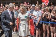 König Philippe (Bild: Boris Bürgisser, Luzern, 23. Juni 2017)