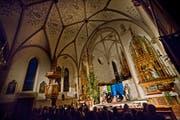 Die Egolzwiler wollen keine Mobilfunkantenne in oder auf ihrer Kirche. (Bild: Pius Amrein / Neue LZ)