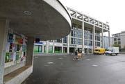Auf dem Martignyplatz in Sursee soll im Winter ein Eisfeld installiert werden. (Bild: Philipp Schmidli/Neue LZ)