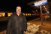 Werner Zgraggen, der neue Gemeindepräsident von Erstfeld, hat Visionen für den Ort. (Bild Urs Hanhart/Neue UZ)