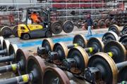 Das Industriewerk Bellinzona soll verlegt werden. (Bild: Andreas Bodmer (Bellinzona, 13.04.2012))