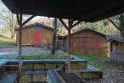 Die beliebte Freizeitanlage Hochhüsliweid im Würzenbach. (Bild: Dominik Wunderli (Luzern, 14. November 2017))