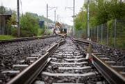 Auf dem ehemaligen Bahntrassee der Zentralbahn soll ein Veloweg entstehen. (Bild: Archiv Neue LZ)