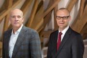 Barend Fruithof (links) und Gregor Widler. (Bild: PD)