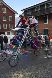 Das Biken ist eine grosse Leidenschaft der Zunftmeisterfamilie. (Bild Christoph Näpflin)